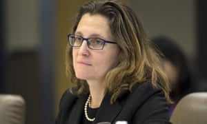 'Canadian companies will now be able to position themselves for new trade opportunities,' trade minister Chrystia Freeland says.