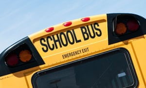 The school district confirmed that the bus made eight runs on March 28 and 29.