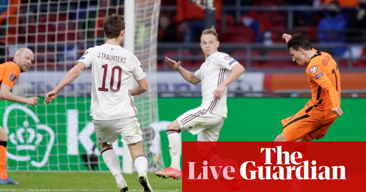 Republic of Ireland v Luxembourg, Serbia v Portugal: World Cup qualifying – live!