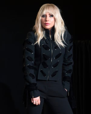 Lady Gaga at the press conference for the documentary during the 2017 Toronto International film festival.