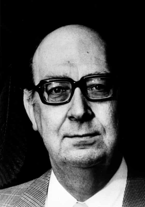 Philip Larkin, who died in 1985.