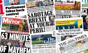 The headlines were not kind to Theresa May
