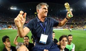 Carlos-Queiroz coach of Iran