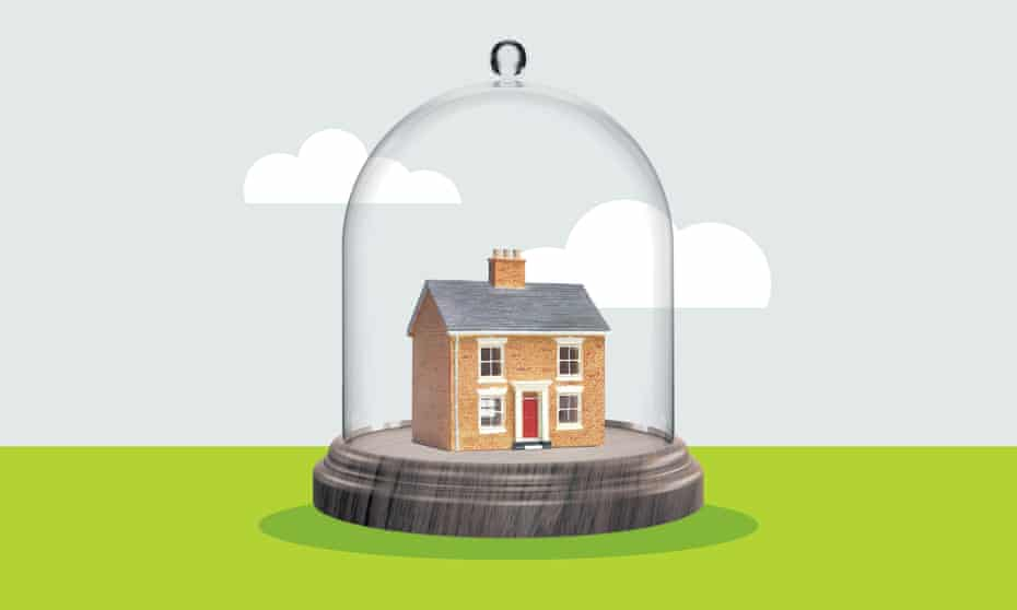 House under a bell jar