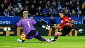 Albion - Barclays Premier League - King Power Stadium - 1/3/16 Salomon Rondon scores the first goal for West Brom Reuters / Darren Staples Livepic