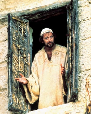 A very naughty boy… Graham Chapman, David Mitchell's comedy hero, in Monty Python's Life of Brian.