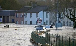 Storm Desmond in Cumbria