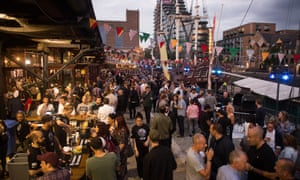 Meatopia is held annually in London's Tobacco Dock.