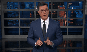 Stephen Colbert: 'Putin was playing chess while Trump was eating his own checkers.'
