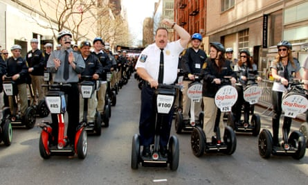 Paul Blart: Mall Cop 2 makes its debut in New York.
