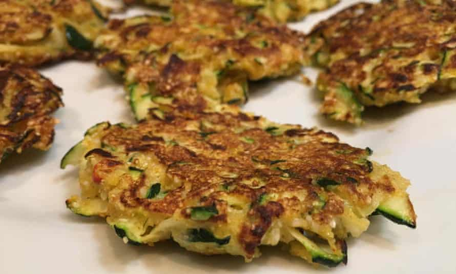 Katy Salter's fritters