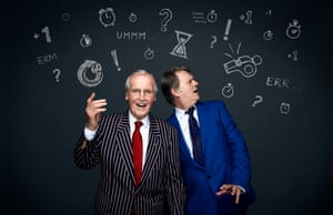 'Banging on and on': Nicholas Parsons and Paul Merton celebrate 50 years of Just a Minute.