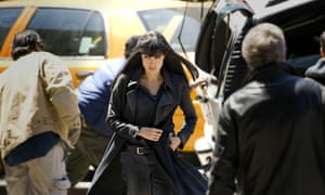 A girl and a gun... Angelina Jolie in spy thriller Salt