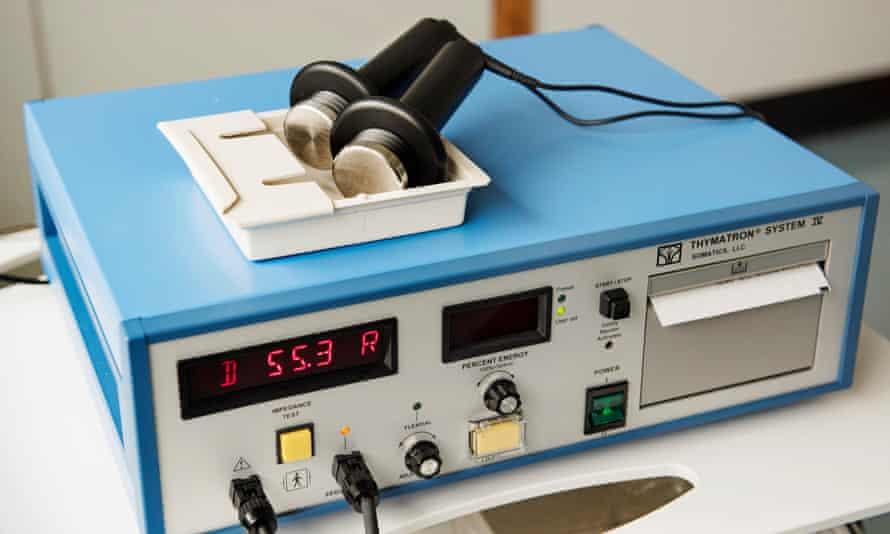 an ECT machine