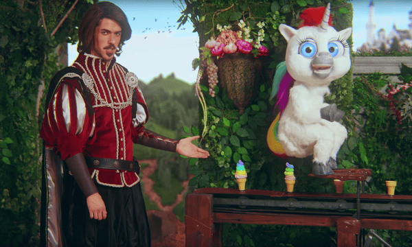 Squatty Potty's unicorn advert, which has been viewed more than 100m times.