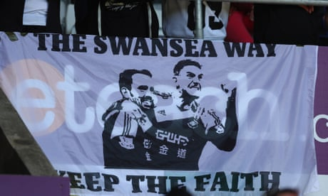 Swansea could have saved themselves by being less competitive | Jonathan Wilson