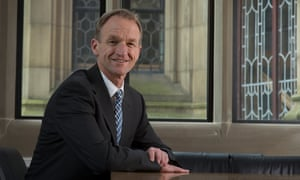 University of Sheffield vice-president Wyn Morgan