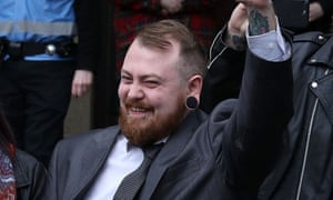 Mark Meechan, who is known on YouTube as Count Dankula.