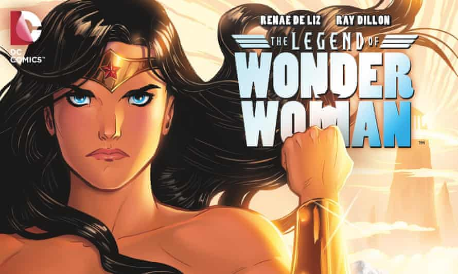 The cover of The Legend of Wonder Woman #1 by Ray Dillon and Renae De Liz.