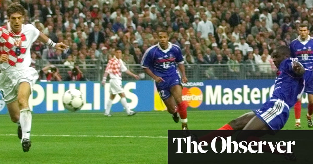 f1d61157cb4 The day Lilian Thuram turned into a goalscorer supreme for France ...