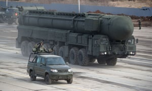Nato and Russia trade barbs after collapse of nuclear arms