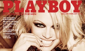 Playboy ditched nudes for the January/February 2016 issue, which featured Pamela Anderson on its cover.