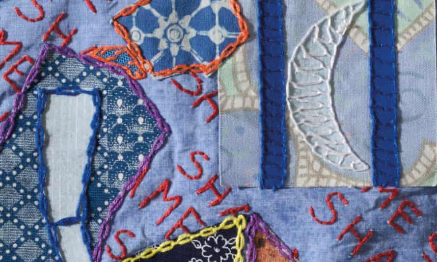 Inside look … Moon Behind Bars, one of the designs from Tracy Chevalier's book The Sleep Quilt.
