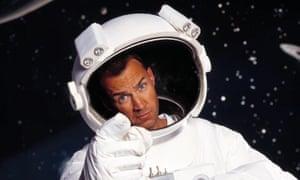 Crash landing … Johnny Vaughan presenting 2005's Space Cadets.
