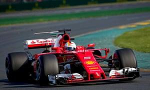 Germany's Sebastian Vettel