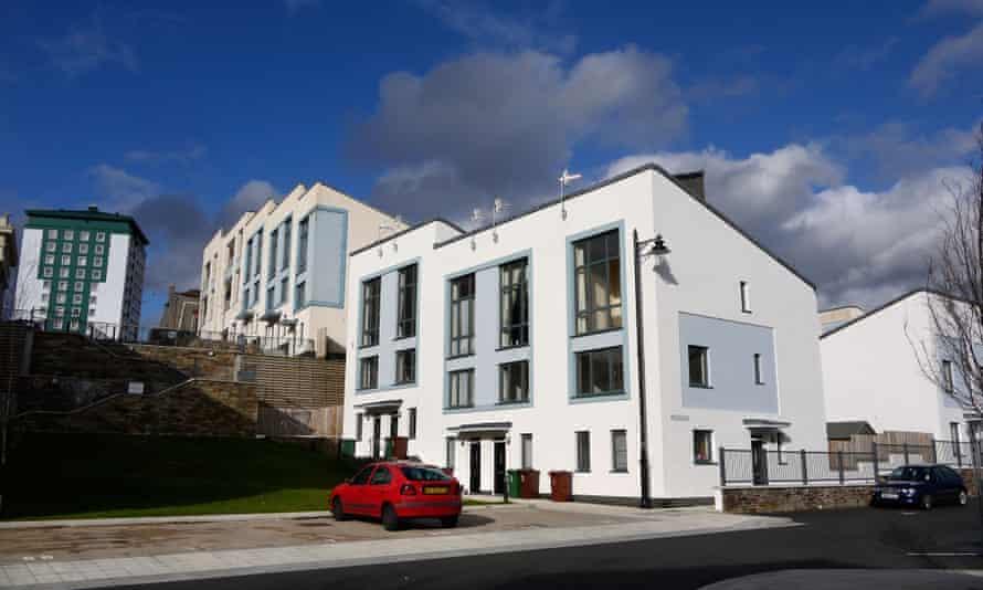 New housing in Devonport, Plymouth.