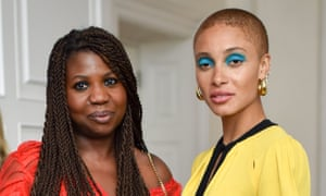 'We need to keep on fighting until we win': with Adwoa Aboah in 2018.