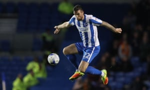 Brighton and Hove Albion defender Shane Duffy