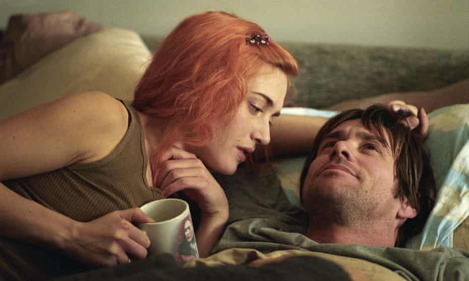 With Jim Carrey in Eternal Sunshine of the Spotless Mind. Photograph: David Lee/AP