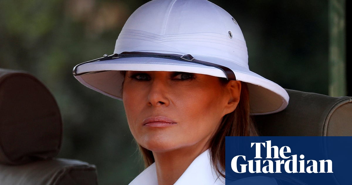 4cdee6bedfb We need to talk about Melania Trump s Out of Africa wardrobe ...