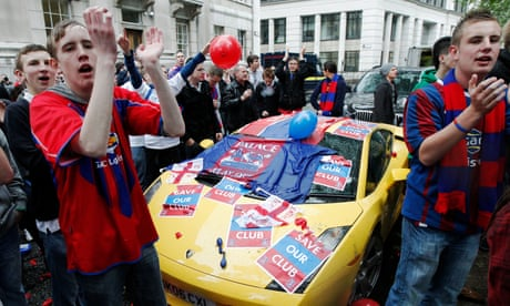The great escapes: how Crystal Palace fought off relegation and liquidation 10 years ago
