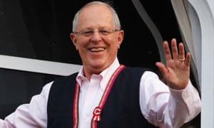 Pedro Pablo Kuczynski looks set to become Peru's next president.