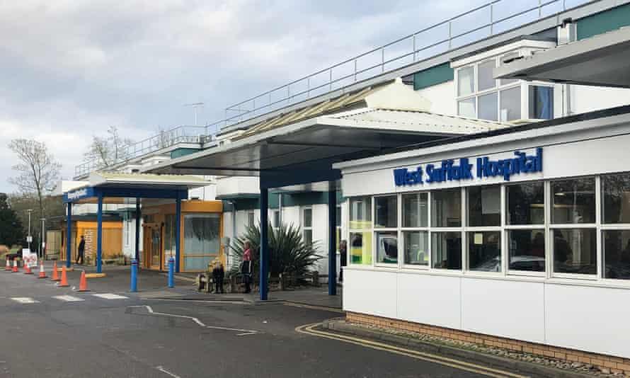 West Suffolk hospital.