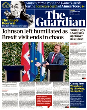 guardian front page 170919