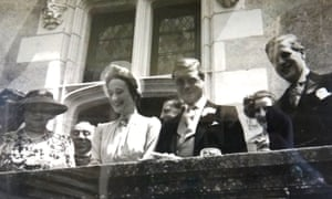 Duke of Windsor and Wallis Simpson at their wedding