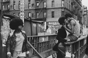 Forbidden Love, New York, Harlem, 1972 by Ernest Cole