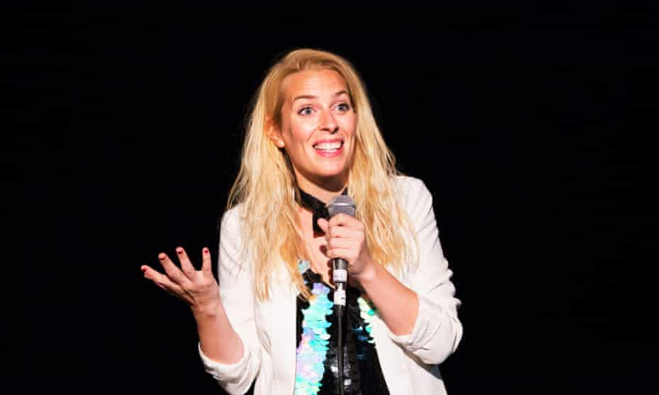 Embracing self-sufficiency … Sara Pascoe at the Pleasance Courtyard.
