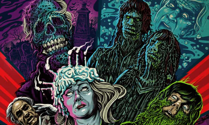 The cover of Creepshow, Waxwork records' rerelease of the soundtrack to the 1982 film.