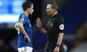 Seamus Coleman and Kevin Friend