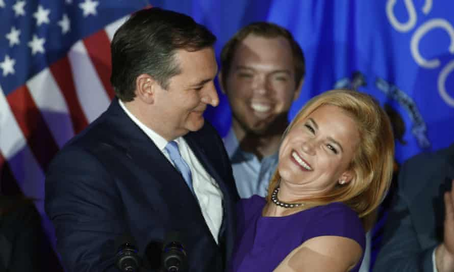 Ted CruzRepublican presidential candidate Sen. Ted Cruz, R-Texas, hugs his wife Heidi, during a primary night campaign event, Tuesday, April 5, 2016, in Milwaukee. (AP Photo/Paul Sancya)