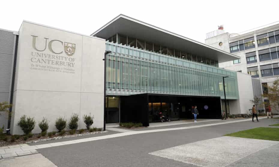 Canterbury University in Christchurch, New Zealand