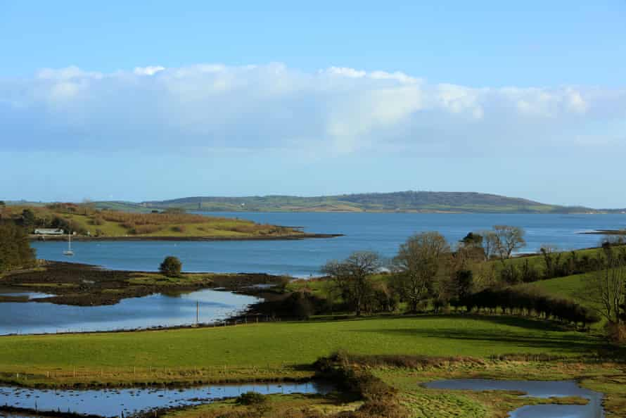 Views over Ringhaddy, Strangford Lough, County Down