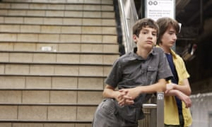 Michael Barbieri and Theo Taplitz as friends divided by their parents in Little Men