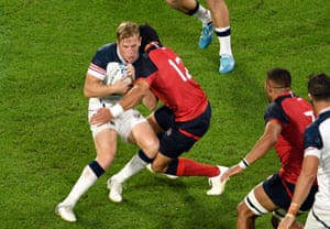 Piers Francis has been cited for a high tackle on USA's Will Hooley.