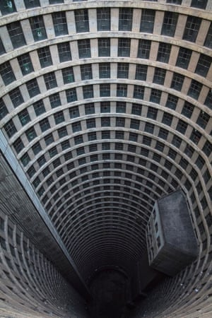 Ponte City Apartments in Johannesburg, South Africa by architect Manfred Hermer. Interior category