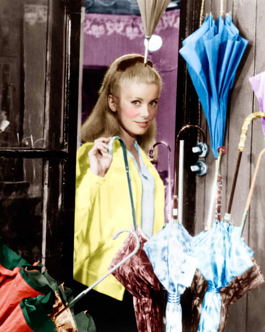 Catherine Deneuve in The Umbrellas of Cherbourg, 1964